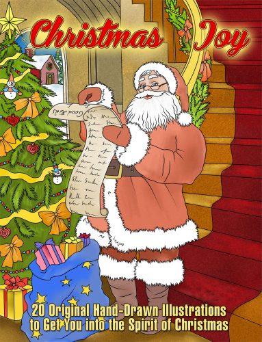 Christmas Joy: Original Hand-Drawn Illustrations to Get You into ...