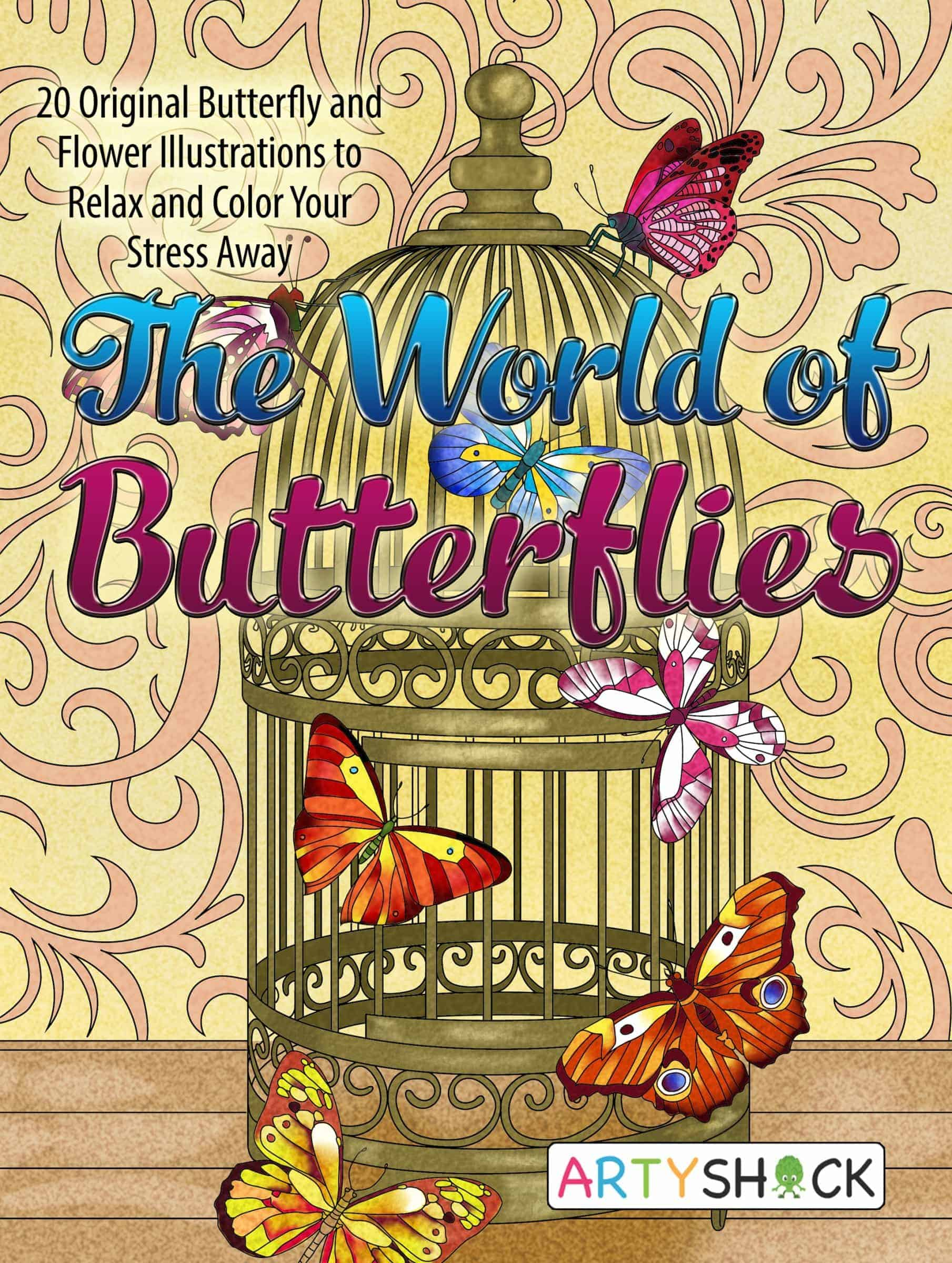The World of Butterflies - Butterfly Balloon