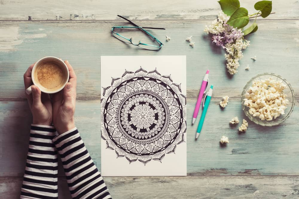 9 Clever Reasons to Choose Printable Coloring Pages over Traditional Adult Coloring Books
