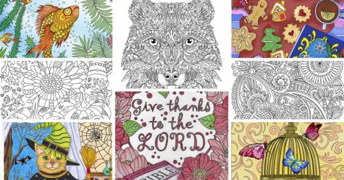9 Clever Reasons to Choose Printable Coloring Pages over ...