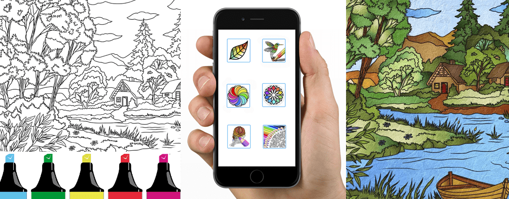 7 Best Apps for Adult Coloring