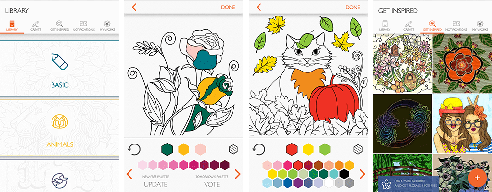 7 Best Apps for Adult Coloring - Printable Adult Coloring Pages from ...