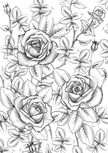Turn Butterfly And Flower Coloring Pages For Adults Into