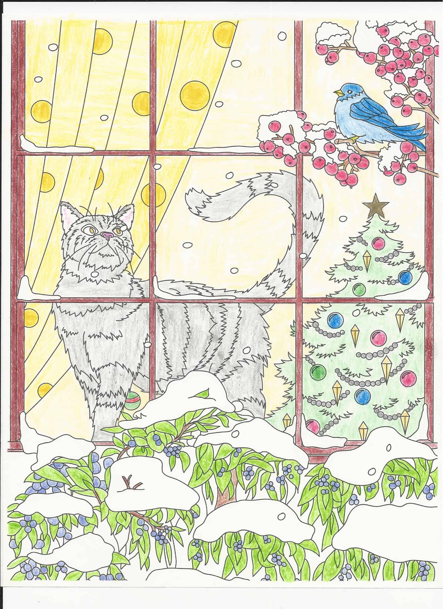 Cats and Dogs – Falling Snow