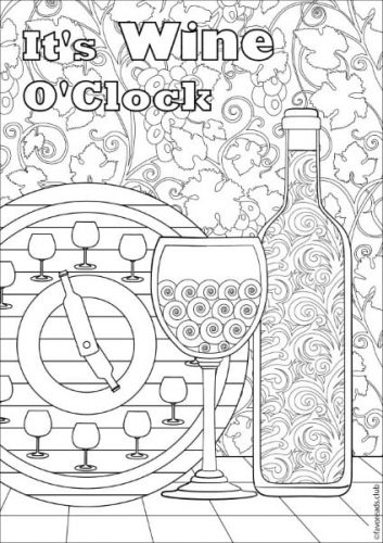 Inspirational Messages Printable Adult Coloring Pages From