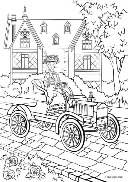 Fashion and Style Victorian Car