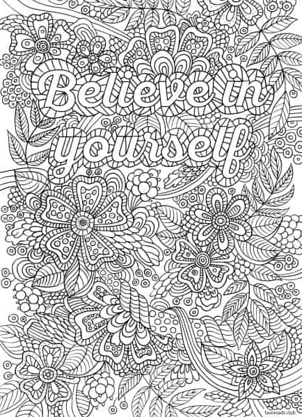 Best Adult Coloring Pages for Inspiration and Stress-Relief ...