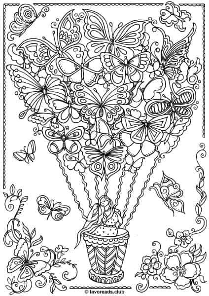 The World of Butterflies - Butterfly Balloon