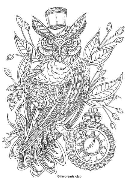 Fantasia – Steampunk Owl