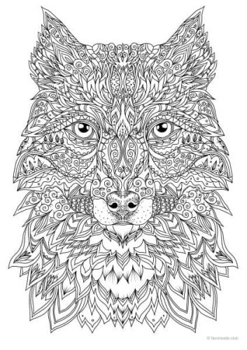 Advanced Collection - 10 Coloring Pages - Printable Adult ...