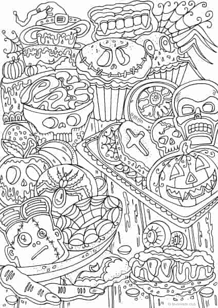 Free printable coloring pages favoreads netflix for Coloring book club for adults