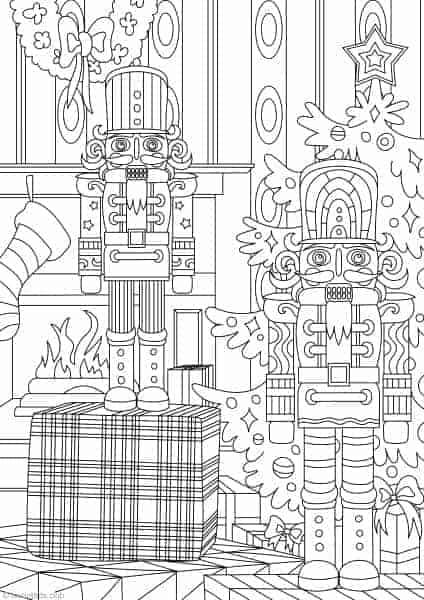 Nutcracker Printable Adult Coloring Pages From Favoreads