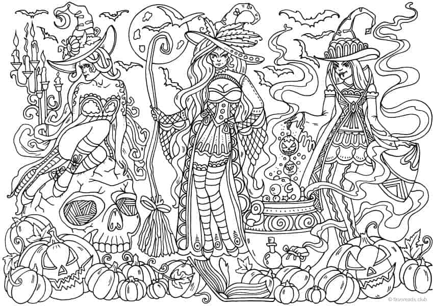 Printable Adult Coloring Pages From Favoreads