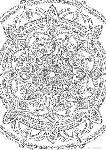 Groovy 70s printable adult coloring pages from favoreads for Groovy coloring pages