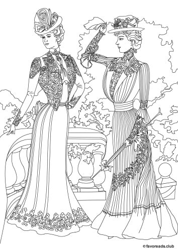 Fashion and Style – Women in the Garden