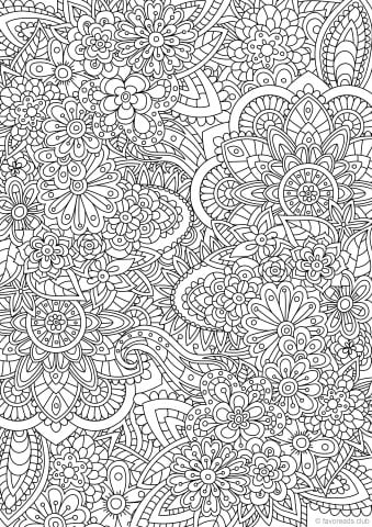 advanced free coloring pages - photo#28