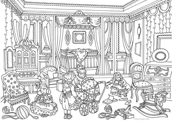 Authentic Architecture - Victorian Children's Room ...