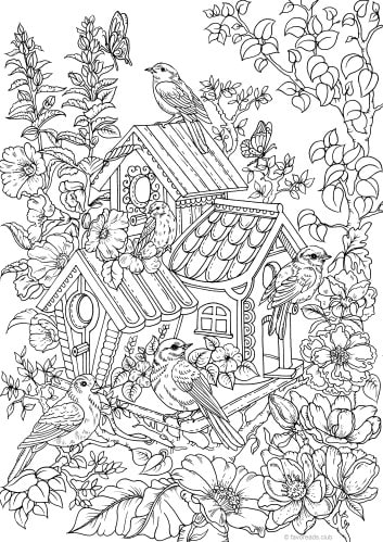 Adult Coloring Pages From Favoreads