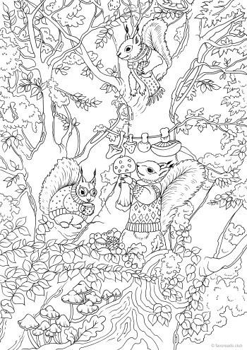 Friends on a Tree